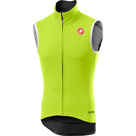 Castelli Perfetto Rain Or Shine Vest Men yellow fluo